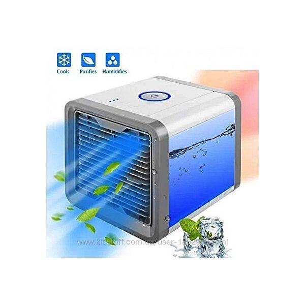Портативный кондиционер, охладитель и увлажнитель воздуха.