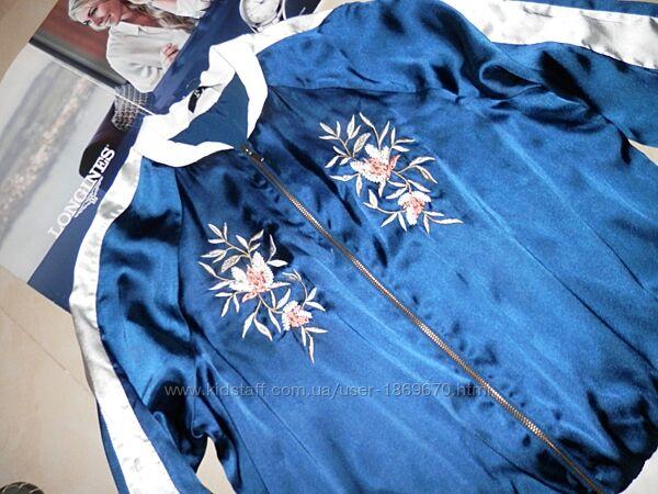 Унікальна вишита куртка кофта бомбер 14 Dolce Gabbana