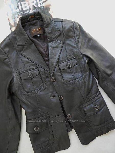 Шкіряна куртка кожаная косуха стильна мега якісна