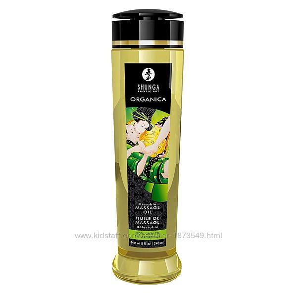 Органическое массажное масло Shunga ORGANICA 240 мл с витамином Е