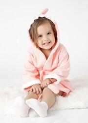 Детский халат - Детский Банный Халат с Капюшоном - Махровый Халат Акула