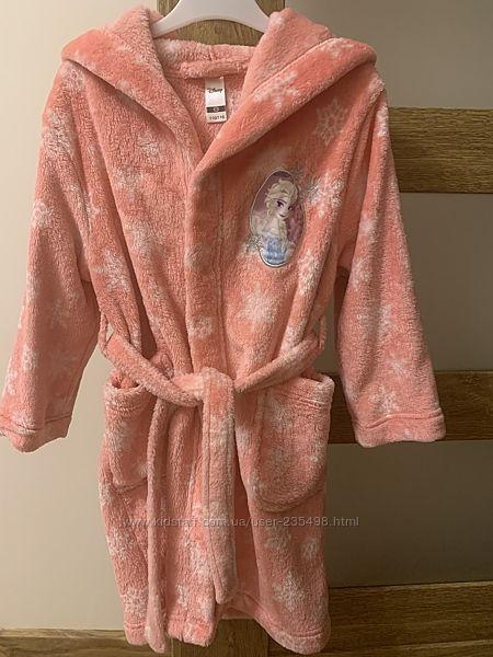 Тёплый халат для девочки C&A