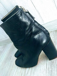 ZARA ботинки натуральная кожа