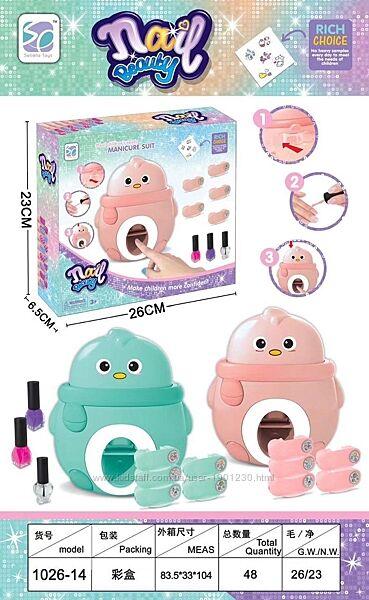 Детский набор для творчества ST для девочек с принтером штампом для ногтей