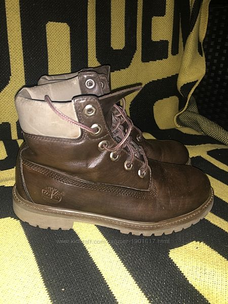Ботинки Timberland Waterproof кожаные
