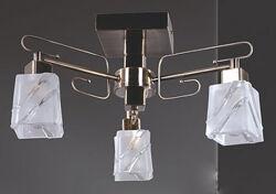 Люстра на 3 плафони потолочна - Нова - Led лампочки в Подарок