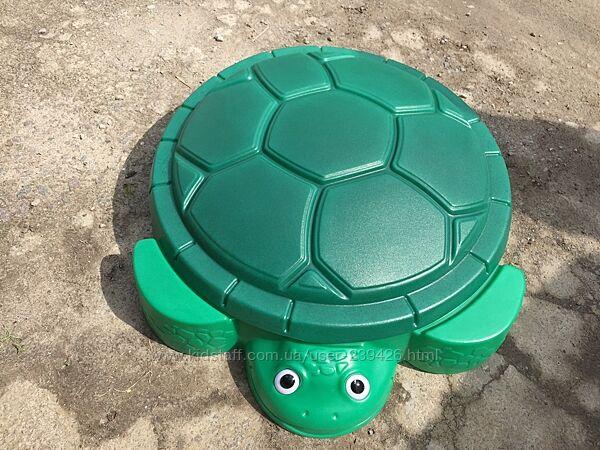 Песочница Веселая черепаха Little tikes