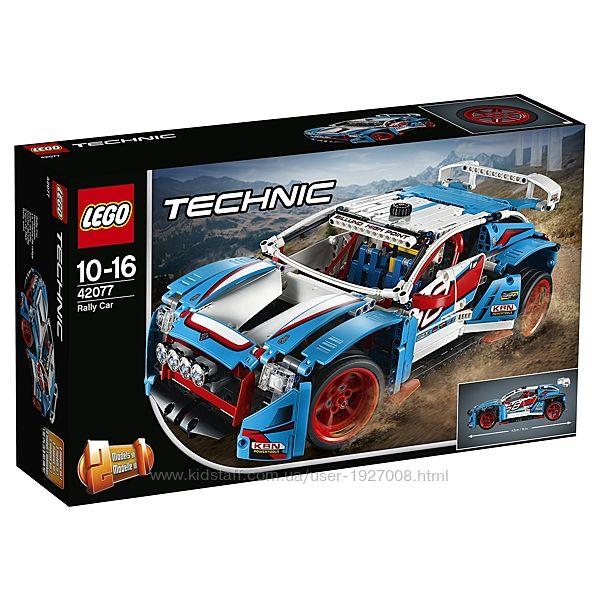 LEGO Technic Гоночный автомобиль 42077