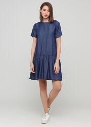 Легкое джинсовое платье Лиоцелл