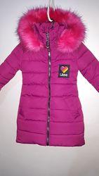 Детская зимняя куртка  зимний детский пуховик р. 104
