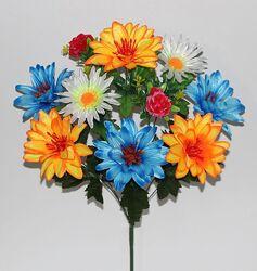 искусственные цветы бордюрные букетные композиции букеты цветов