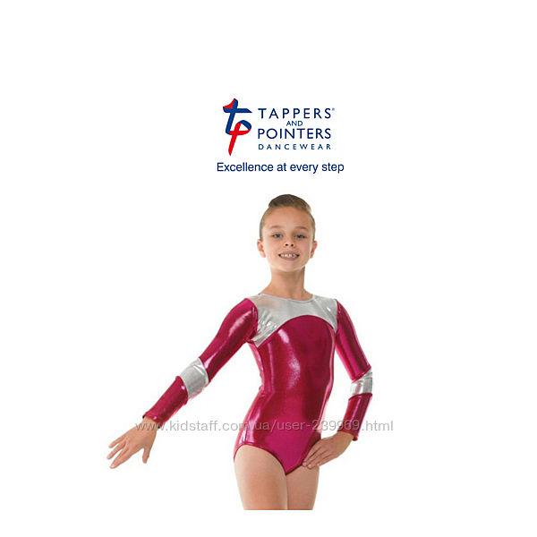 Купальник гимнастический Tappers & Pointers на 6-7 лет р.116-122