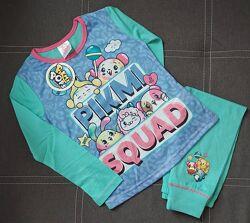 Яркая пижама для девочки 110, 128, 140 размер Pimki pops Disney