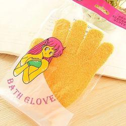 Перчатка пилинг. Мочалка перчатка. Массажная антицеллюлитная перчатка
