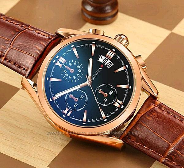 Мужские Наручные Часы Geneva с датой