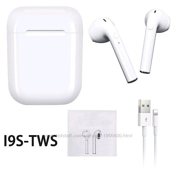 Блютуз Навушники I9s Безпровідні Bluetooth Наушники Аирподс