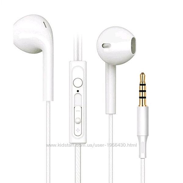 Белые Наушники Вкладыши Apple