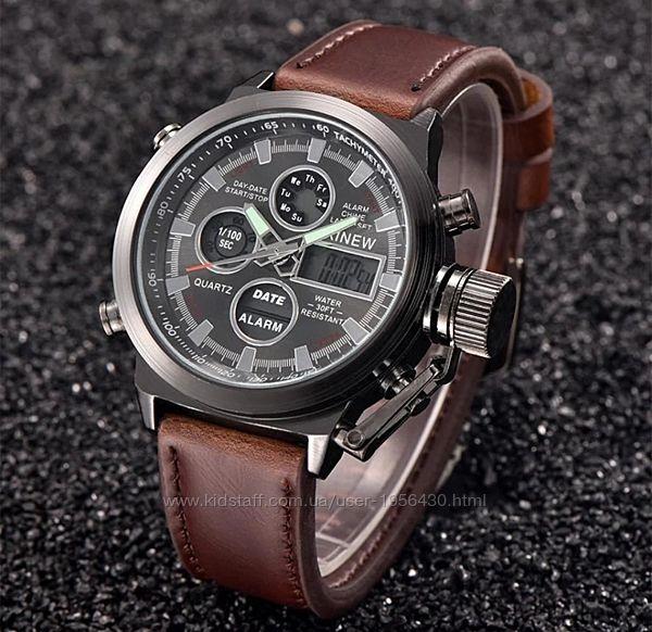Армейские наручные часы AMST Watch - Мужские наручные военные часы