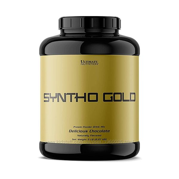 Протеин Ultimate Nutrition Syntha Gold 5 Lbs 2,27kg Delicious Chocolate