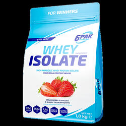 Протеин Whey Isolate 1800 gr Strawberry