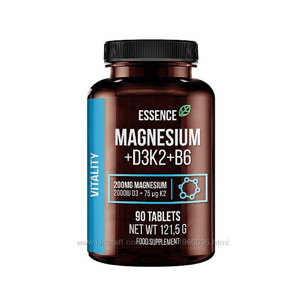 Magnesium  D3K2  B6 Essence Sport Definition