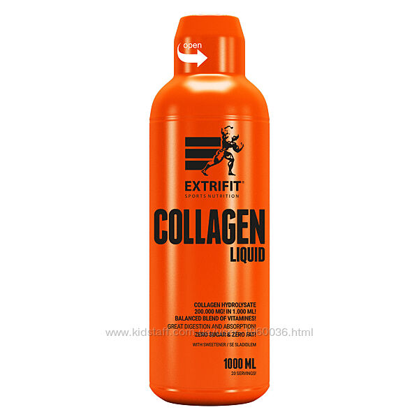 Коллаген Extrifit Collagen Liquid 1000 ml /20 servings/