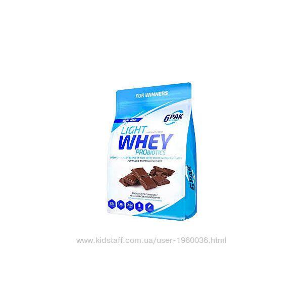 Протеин 6PAK Nutrition Light Whey Probiotic 1800г