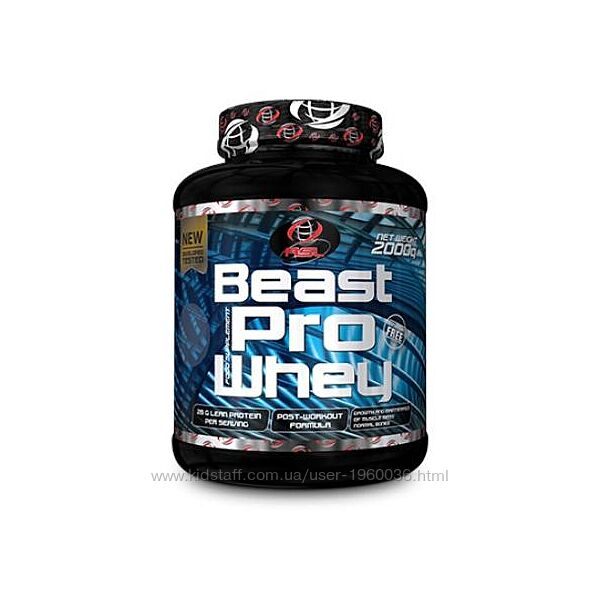 Протеин Beast Pro Whey от All Sports Labs 80