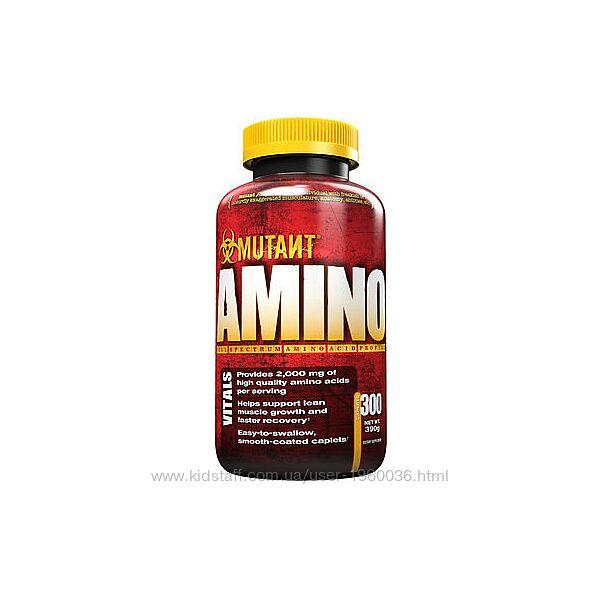 Аминокислотный комплекс Mutant Amino - 300 таблеток