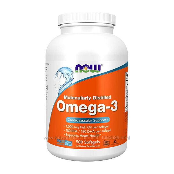 Омега-3, Omega-3 500кап