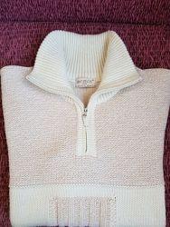 Теплый мужской свитер размер 52