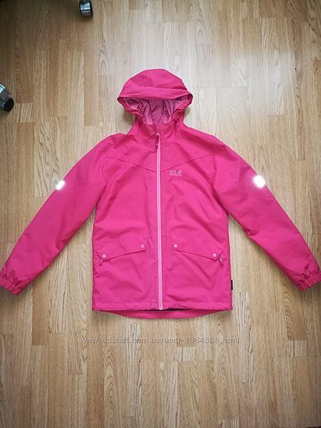 Демисезонная куртка штормовка Jack Wolfskin мембрана дождевик рост 164