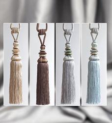 Пара шторних китиць Д081Р у 4 кольорах на вибір