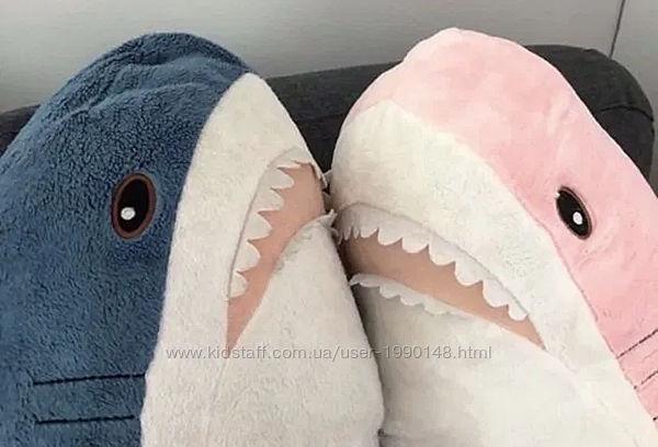 Акула из ИКЕА 85/100см мягкая игрушка