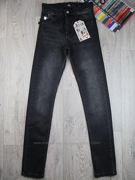 Серые джинсы для мальчика. 152-170р. Турция.