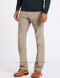 Вельветовые брюки W30L31 Marks&Spencer черные