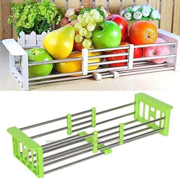Складная кухонная полка Kitchen Drain Shelf Rack