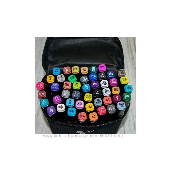 Набор скетч маркеров Touch Coco 48 шт в чёрной сумочке