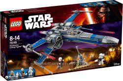 как новый LEGO Star Wars Истребитель X-Wing Сопротивления 75149