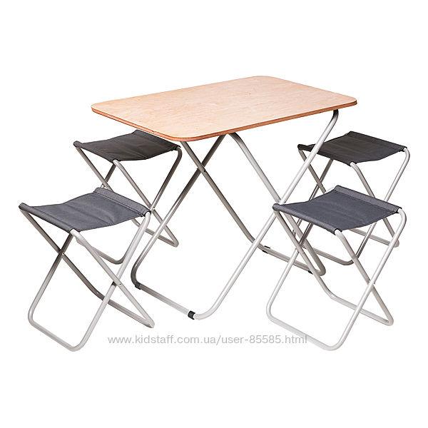 Набор мебели для отдыха Пикник - стол и стулья складные