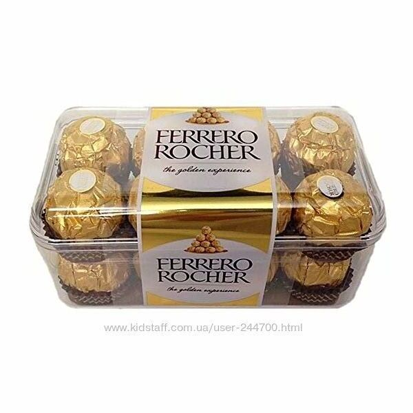 Ferrero Rocher конфеты 200г. Германия