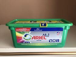 Ariel All in 1 pods Color Professional  капсулы для цветной стирки Оригинал