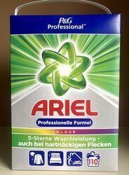 Ariel professional color порошок 110прань Оригінал Німеччина