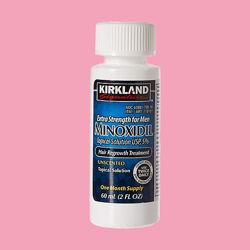 Миноксидил  Kirkland оригинал из США против облысения для роста бороды