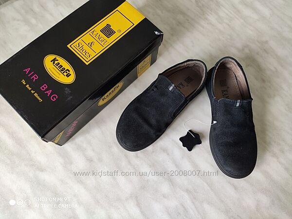 Мокасины, туфли из натуральной замши 28 размер
