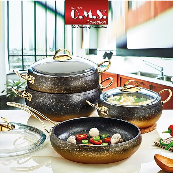 Набор посуды O. M. S. Collection из 7-ми 4/3 предм. арт.3023