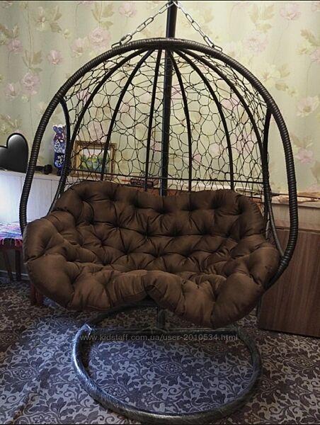 Кресло кокон двойное