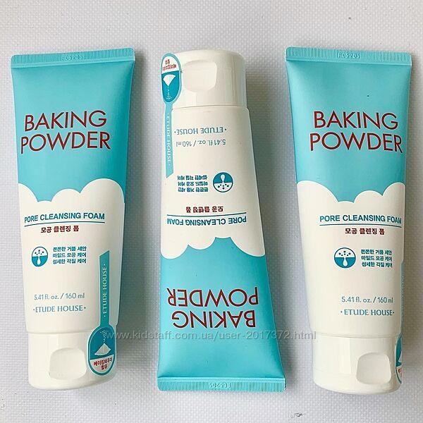Пенка для умывания Baking Powder Pore Cleansing от известного корейского бр