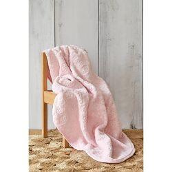 Детский плед в подарочной упаковке, нежно-розовый
