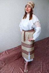 Продам костюм в этническом стиле, ручная работа.